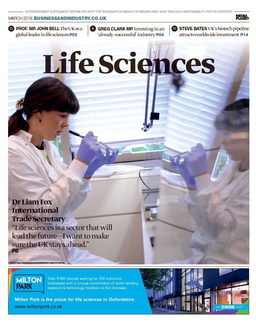 Life Sciences cover