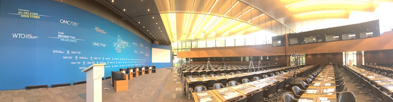 wto public forum - plenary hall