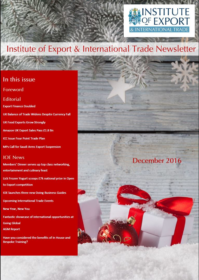 newsletters the institute of export and international trade
