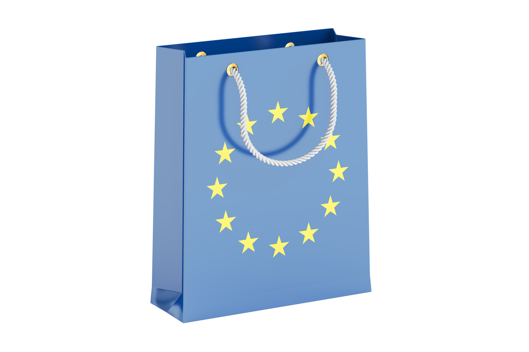 EU flag carrier bag