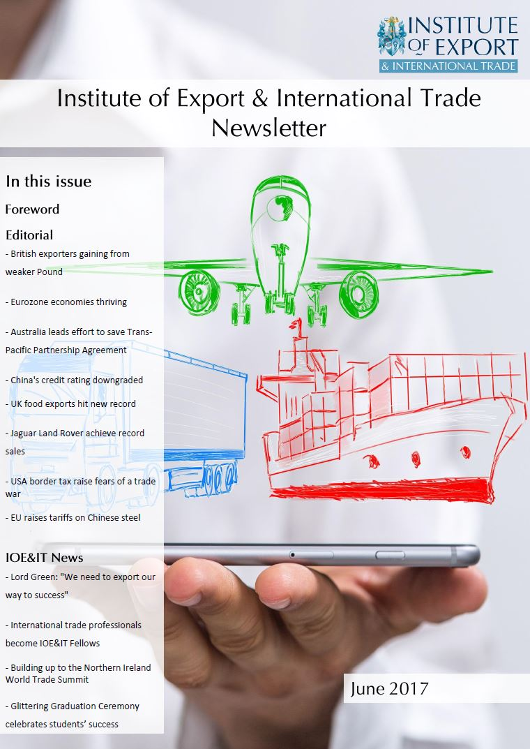 June newsletter cover