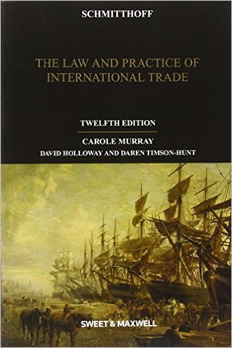 Law and Practice of International Trade cover