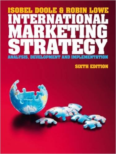 International Marketing Strategy cover