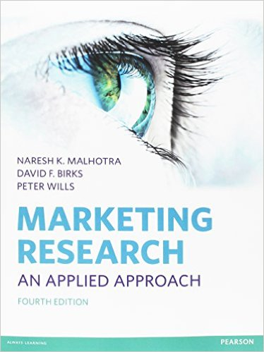 Marketing Research cover