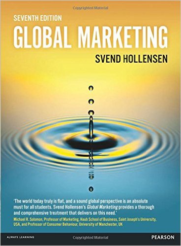 Global Marketing cover