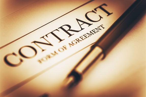 Contract of Agreement with a Pen