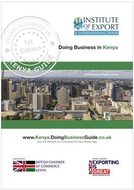 Kenya Doing Business Guide cover