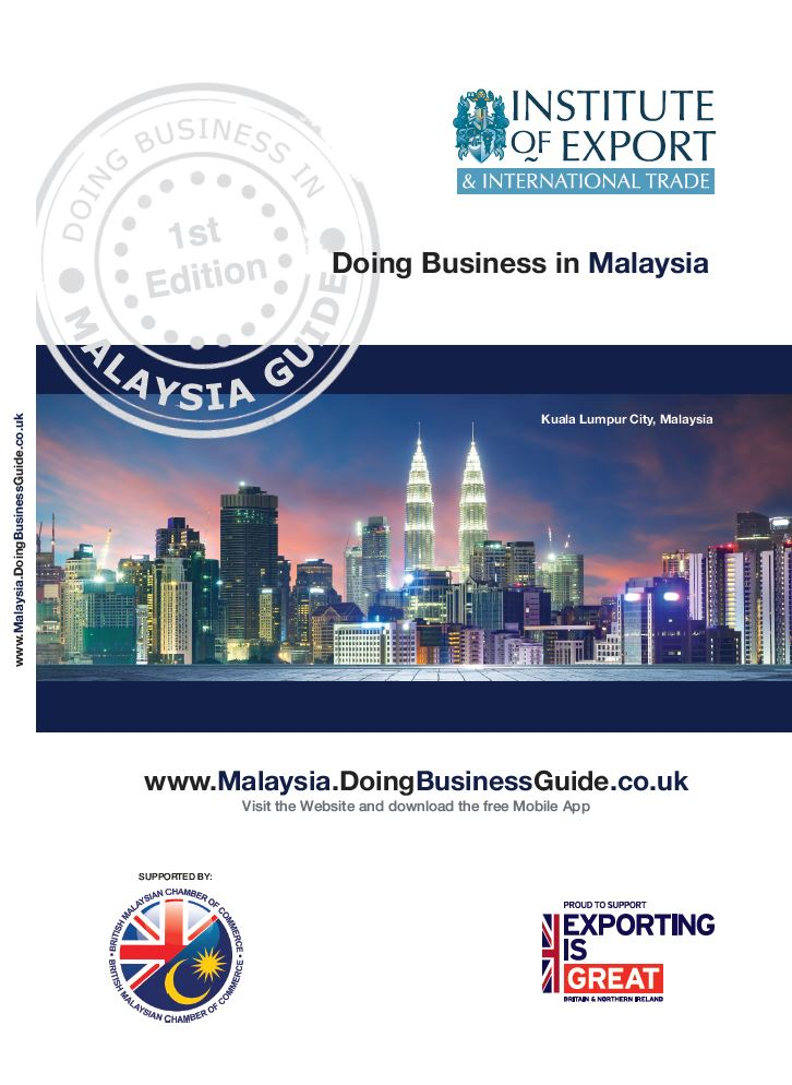 Doing Business in Malaysia guide cover