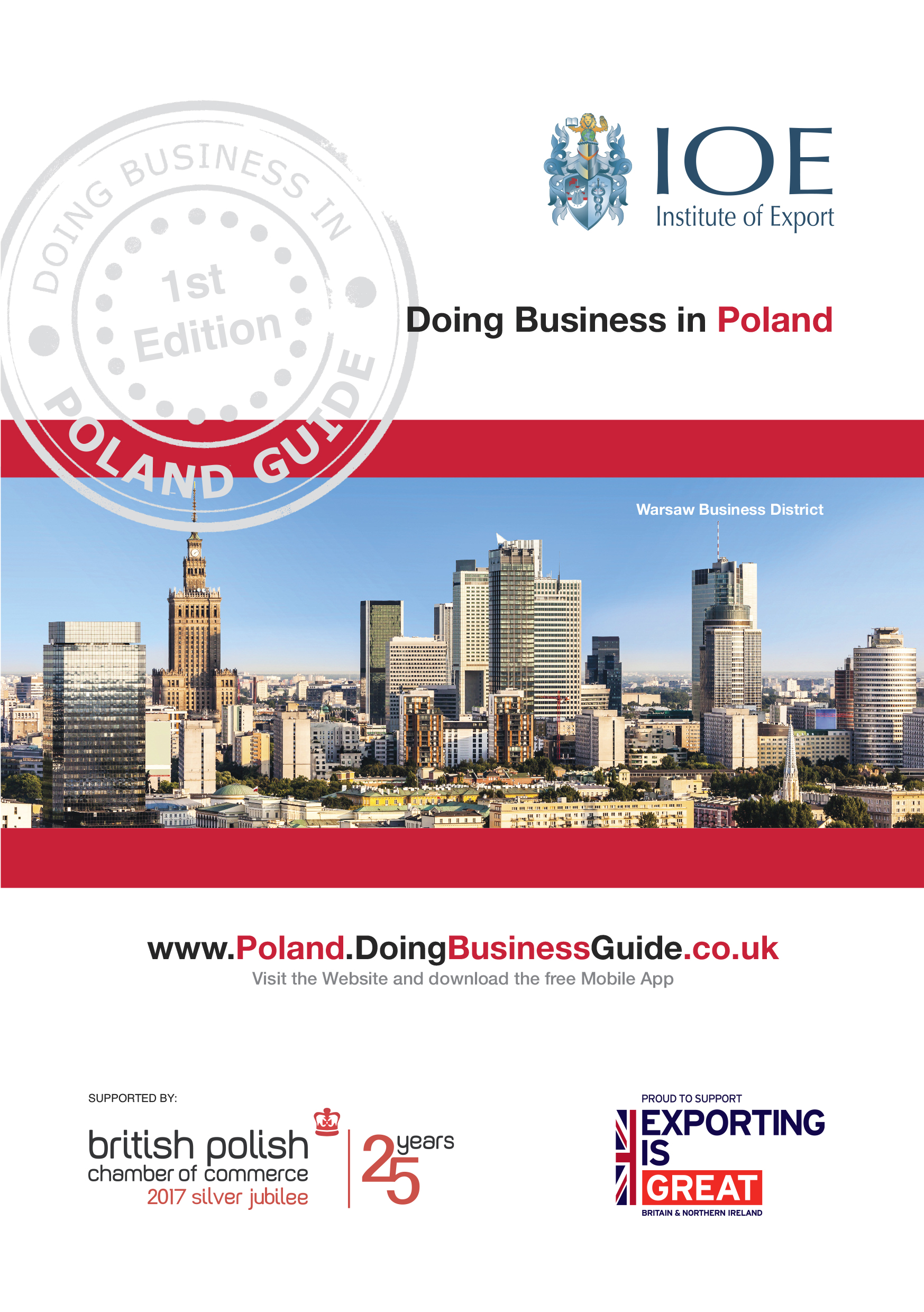 Doing Business in Poland guide front cover