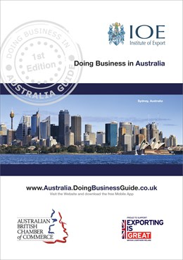 doing business in australia guide cover