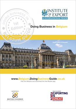Belgium doing business guide cover