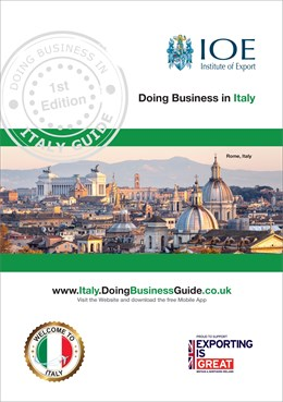 doing business in italy guide cover