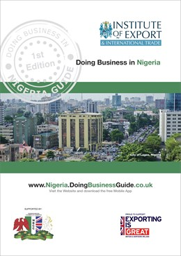 Doing Business in Nigeria guide cover