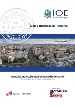 doing business in romania guide cover