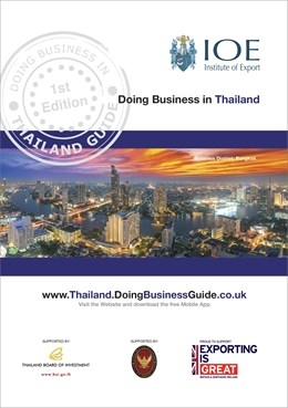 Doing busines in thailand guide cover