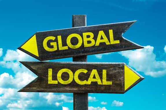 Global and Local Direction Signs