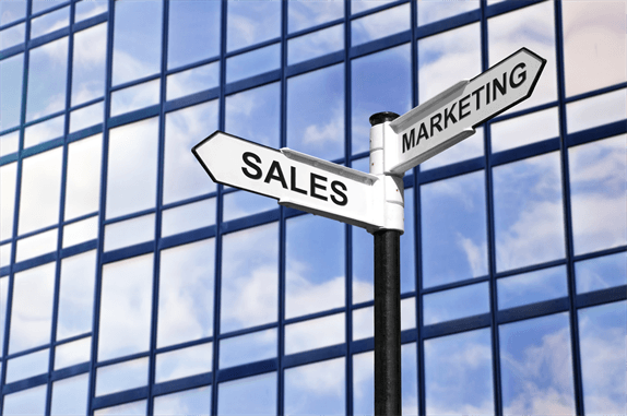 Sales and Marketing signpost
