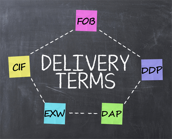 Delivery Terms Diagram