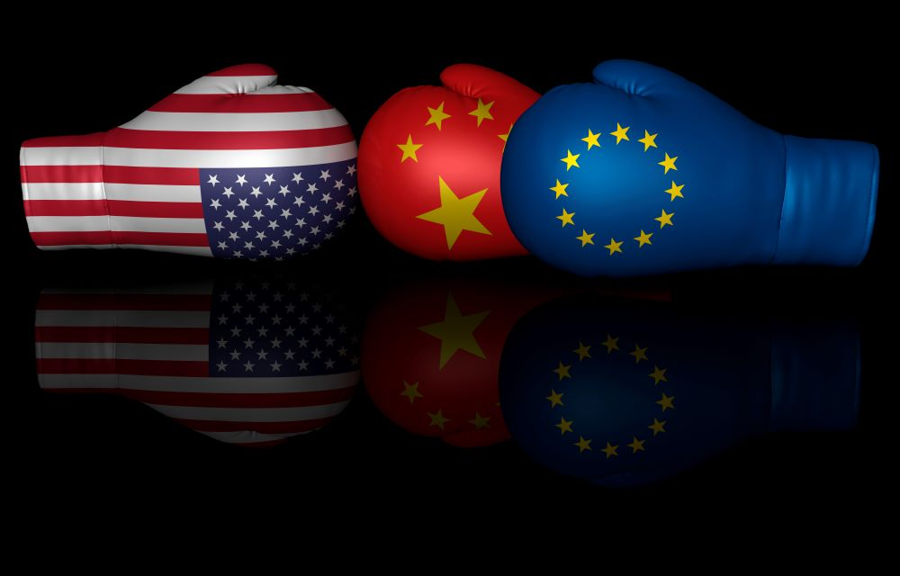 Trade disputes: the state of play between China, Europe and the US as  tensions continue to escalate - The Institute of Export and International  Trade