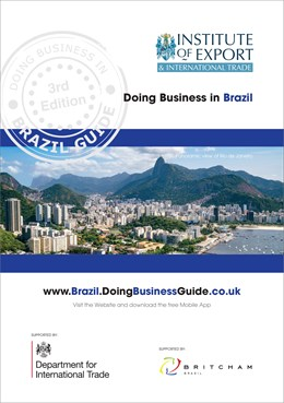 Brazil Doing Business Guide front cover