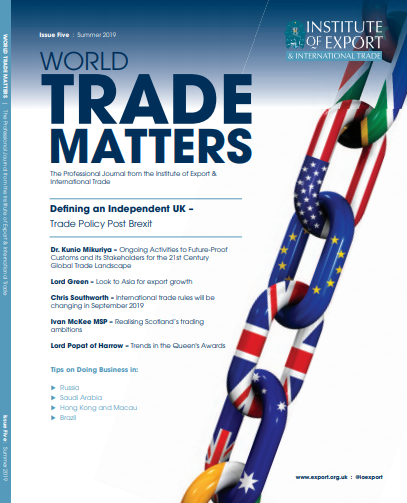 world trade matters summer 19