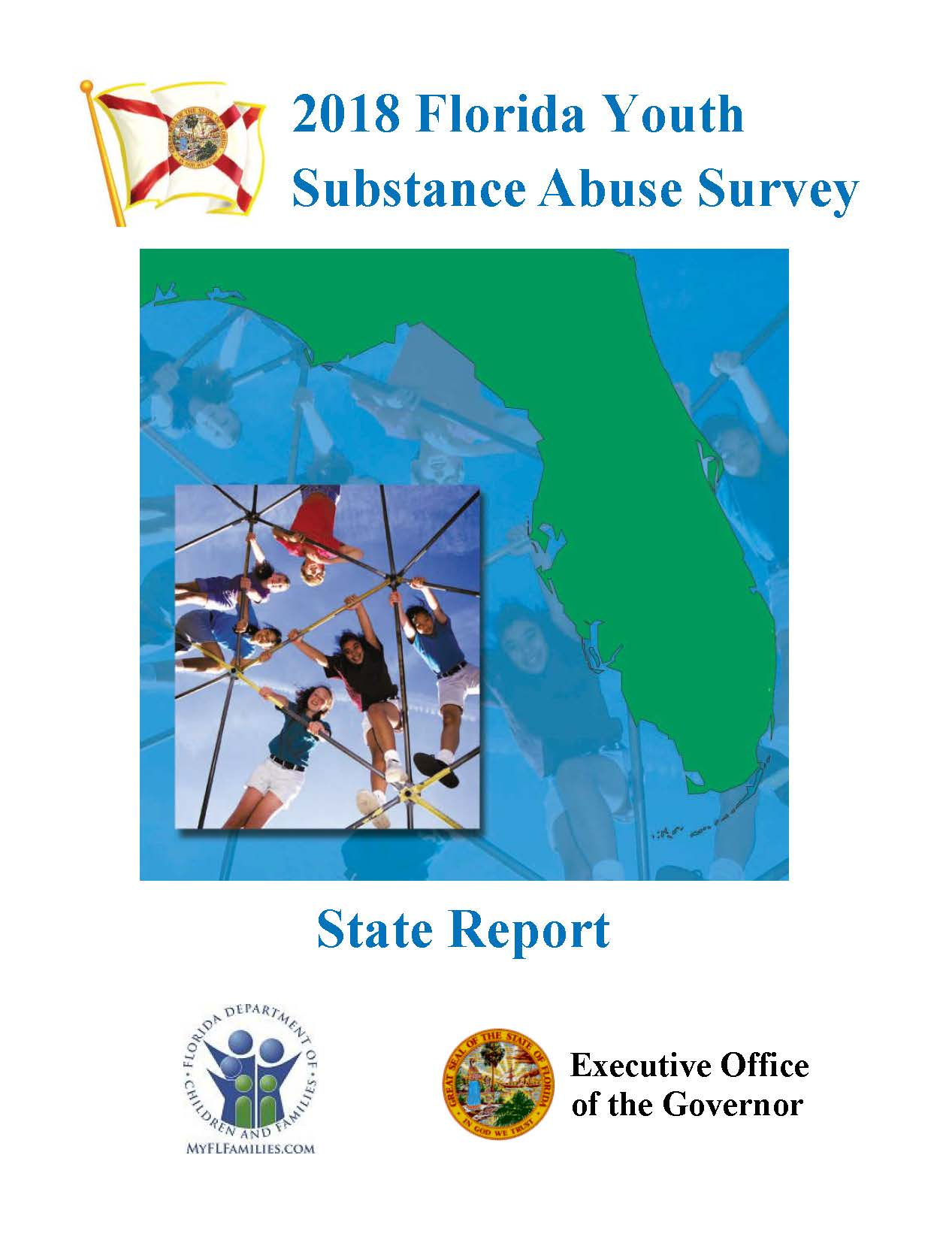2018 Florida Youth Substance Abuse Survey - Cover