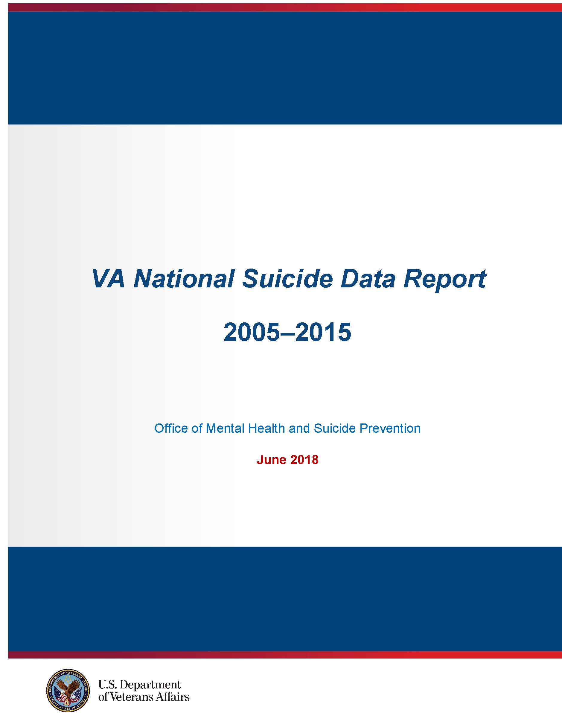 OMHSP National Suicide Data Report- Cover