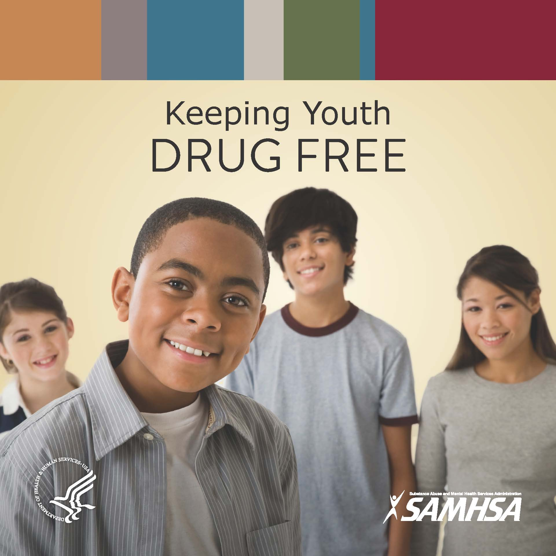 Keeping Youth Drug Free - Cover