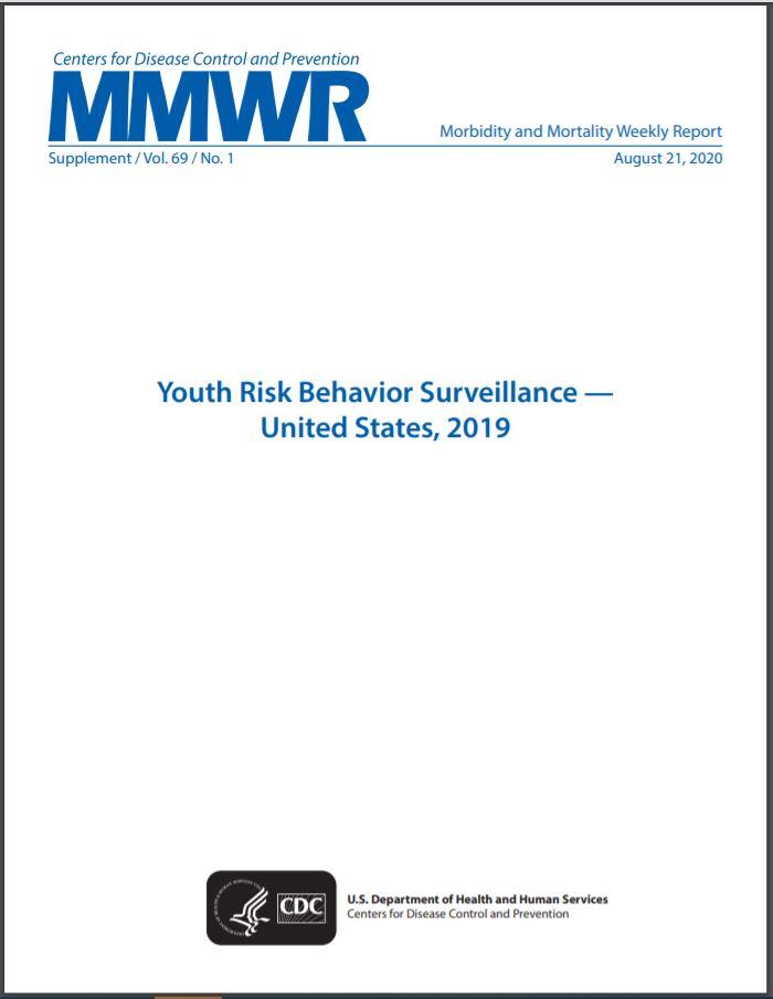 Youth Risk Behavior Surveillance - Cover