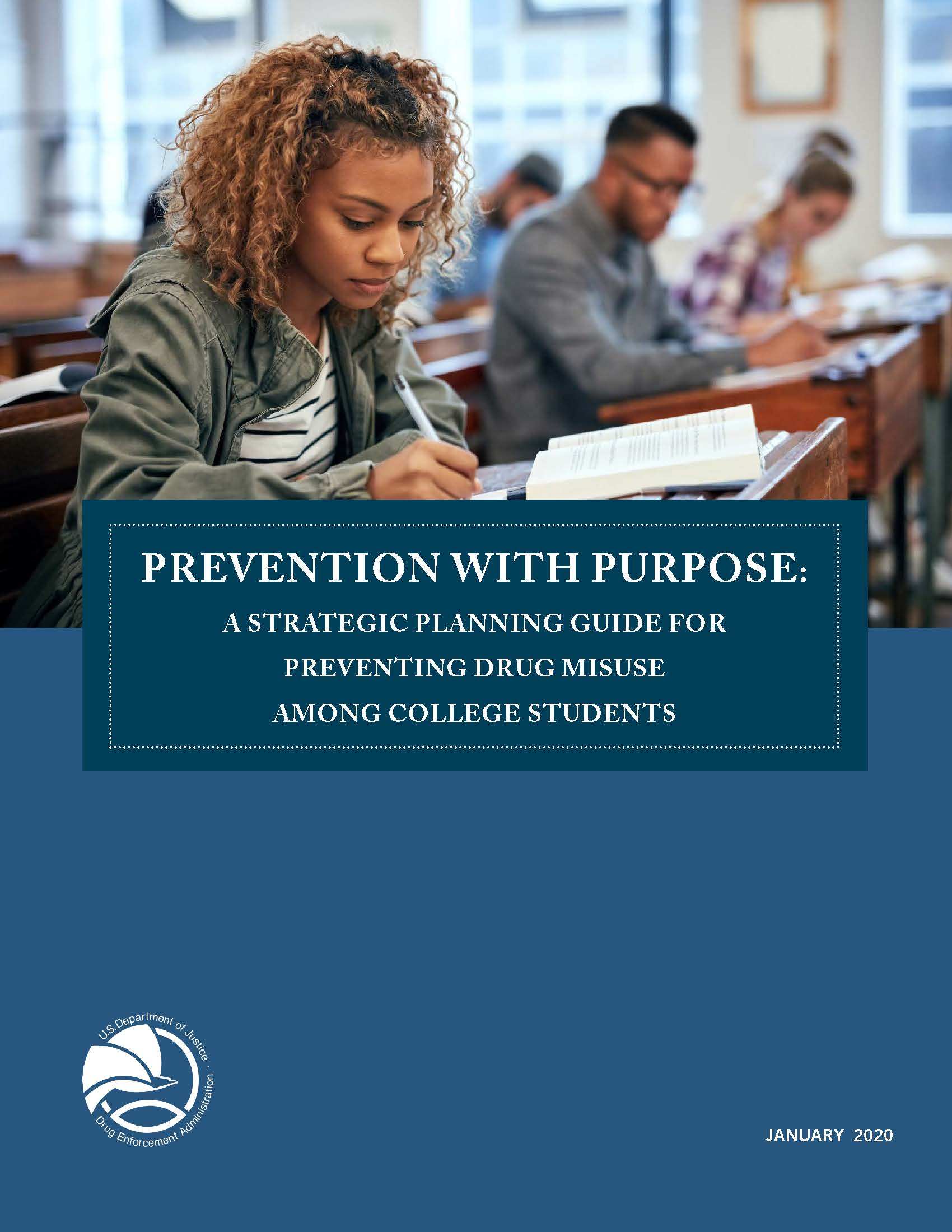 Prevention with Purpose: A Strategic Planning Guide for Preventing Drug Misuse Among College Students  - Cover