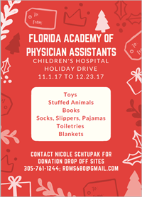 FAPA Children's Hospital Holiday Drive