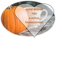 Happy Thanksgiving - FAPSC Office Closed