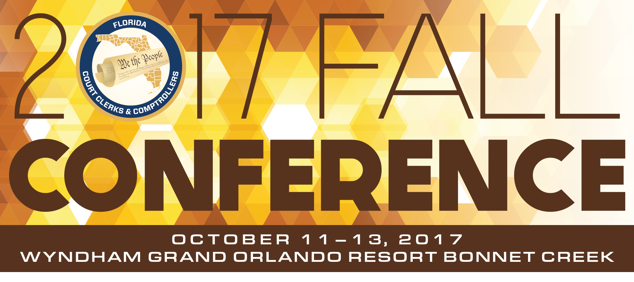 2017 Fall Conference Banner