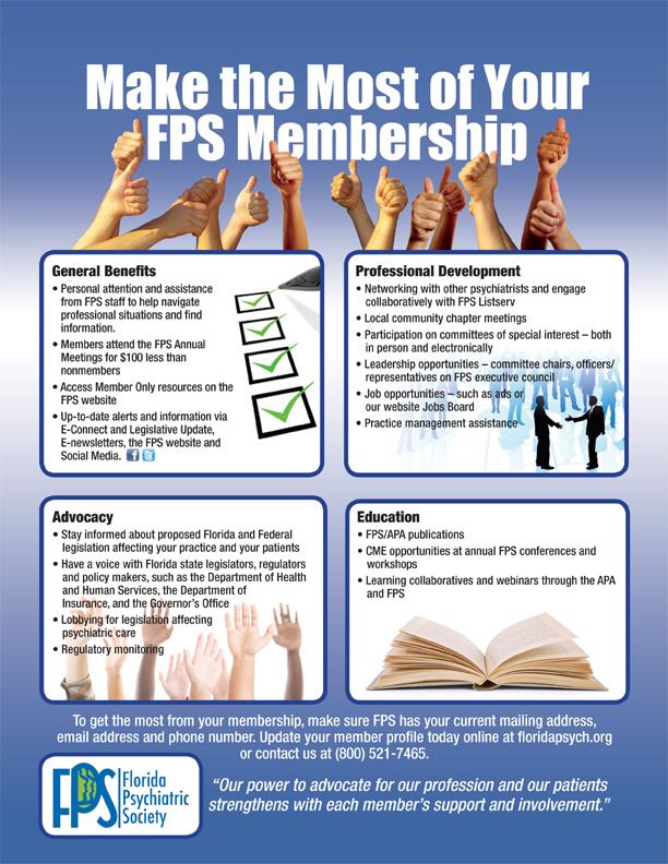 Membership Information - Florida Psychiatric Society