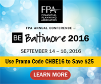 FPA Annual Conference BE Baltimore 2016