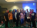 Dr. Thomas Eberle PT teaching an orthopedic manual physical therapy seminar this weekend to benefit the FPTA-PAC fund, supporting our legislative agenda this year. 100 PTs, PTAs, and students attended raising $2500. Thank you to Baptist Hospital for hosting. Pictured is Dr. Eberle with the PT students of FIU who attended.