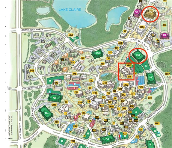 ucf orlando campus map Florida Physical Therapy Association