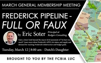 March Membership Meeting - Eric Soter | Frederick Pipeline -  Full or Faux