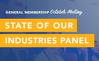 October General Membership Meeting - Industry Panel