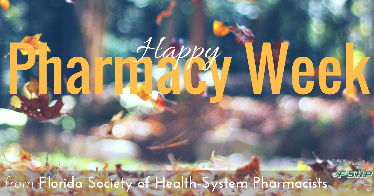 Happy Pharmacy Week!
