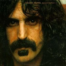 cover of Zappa's album Apostrophe