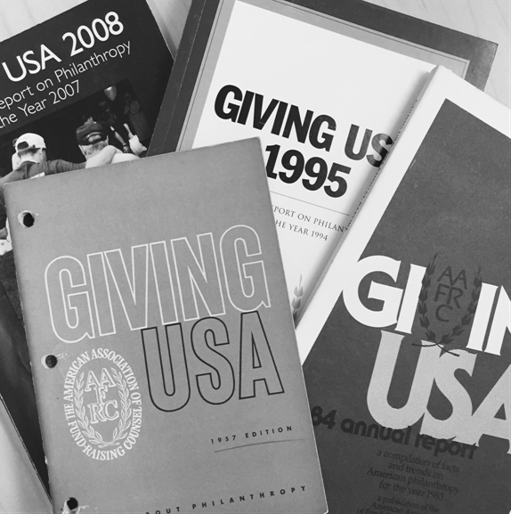 history of Giving USA