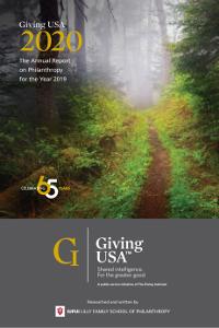 Giving USA 2019