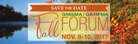 GMGMA GA HFMA Fall Forum Exhibitor Registration 17