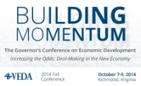 2014 VEDA Fall Conference: Governor's Conference on Economic Development