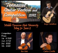 Tennessee Guitar Festival and Competition