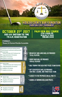 2017 HCBF- Par Fore Justice Golf Tournment