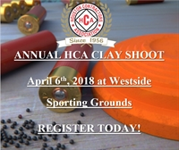 HCA Annual Clay Shoot - 2018