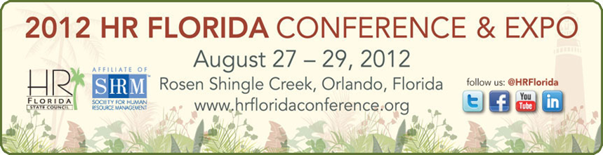HR Florida State Conference & Expo Logo