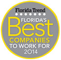 Florida Trend - Best Companies to Work For 2014